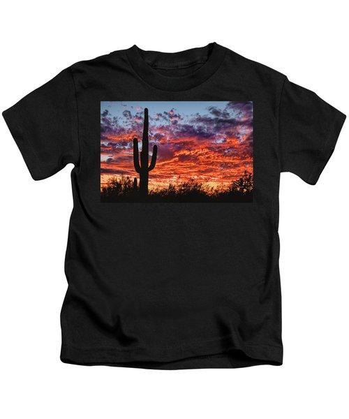 Arizona Sunset Kids T-Shirt