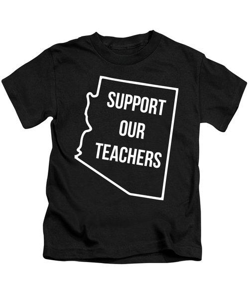 Arizona Support Our Teachers Kids T-Shirt