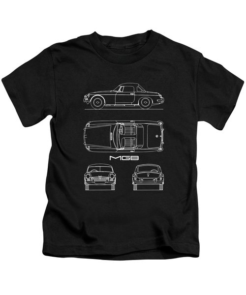 Mgb Blueprint Kids T-Shirt