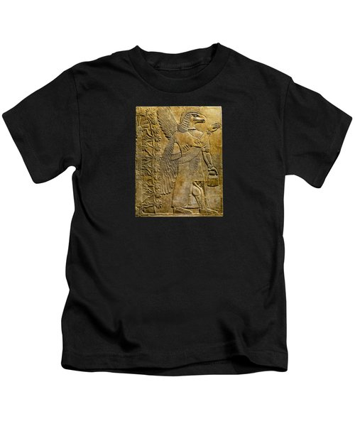Assyrian Winged Genie 2 Kids T-Shirt