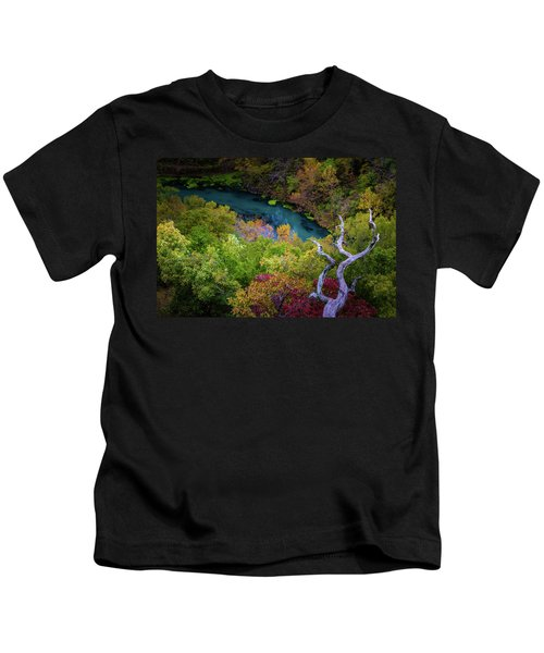 Autumn At Ha Ha Tonka State Park Kids T-Shirt