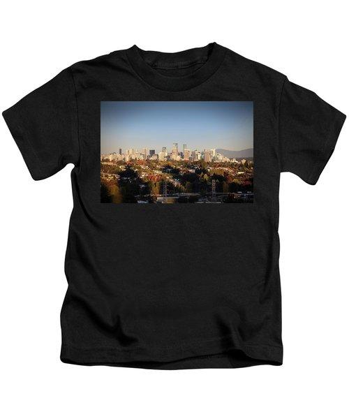 Autumn At The City Kids T-Shirt