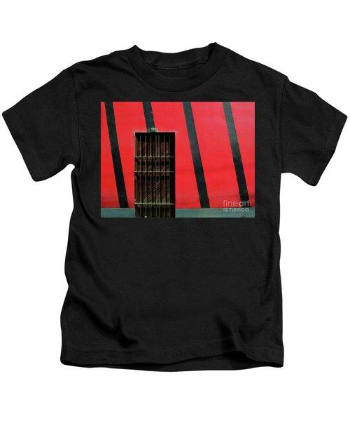 Bars And Stripes Kids T-Shirt