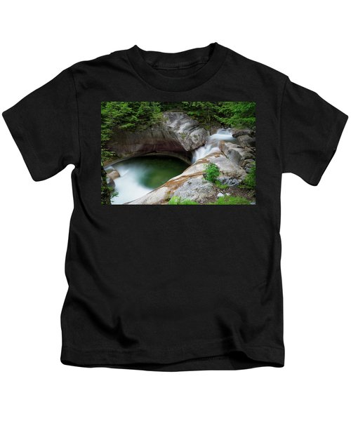 Basin From Above, Nh Kids T-Shirt