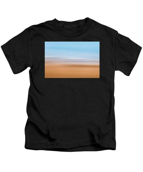 Beach Abstract Kids T-Shirt