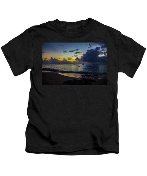 Beach At Sunset 3 Kids T-Shirt