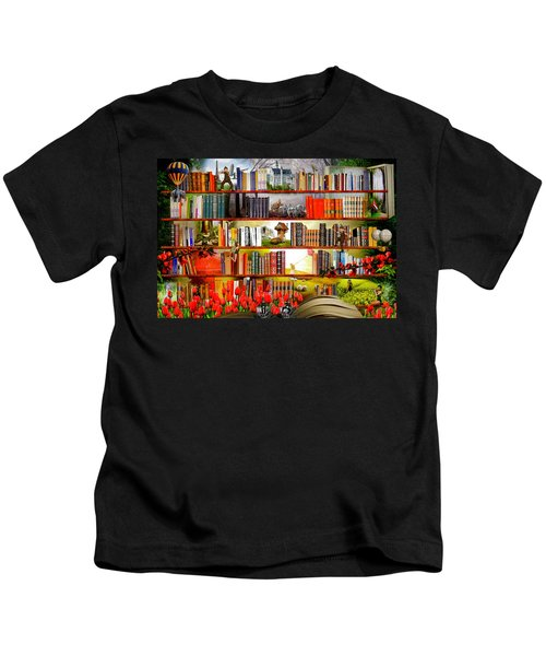Bedtime Stories  Kids T-Shirt