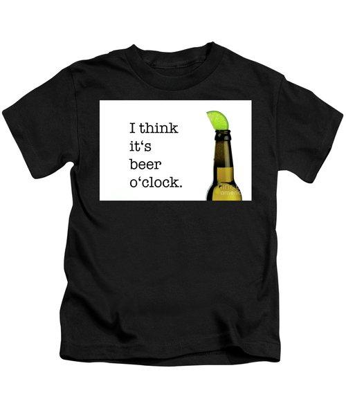 Beer O' Clock Kids T-Shirt