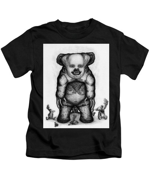 Benjamin The Nightmare Bear Artwork Kids T-Shirt
