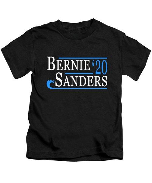 Bernie Sanders Blue Wave 2020 Kids T-Shirt
