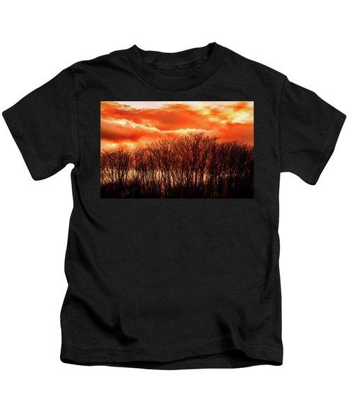 Bhrp Sunset Kids T-Shirt