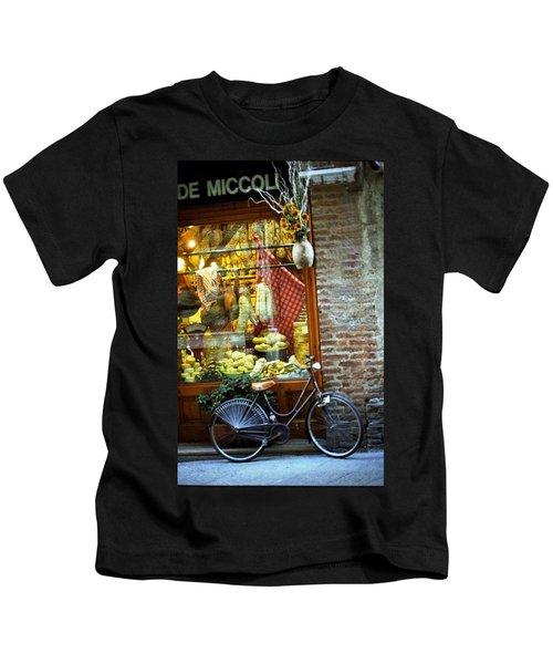 Bike In Sienna Kids T-Shirt