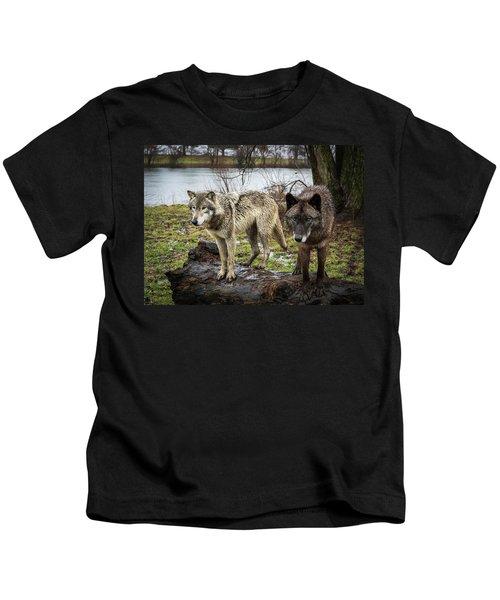 Black And White Kids T-Shirt