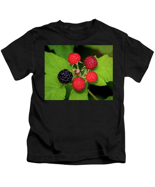 Blackberries Kids T-Shirt