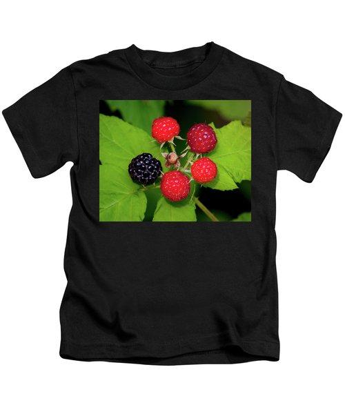 Blackberries Kids T-Shirt