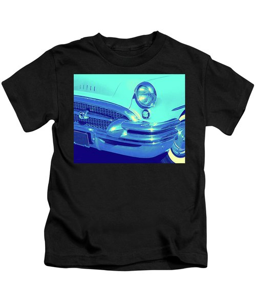 Blue 1955 Buick Special Kids T-Shirt