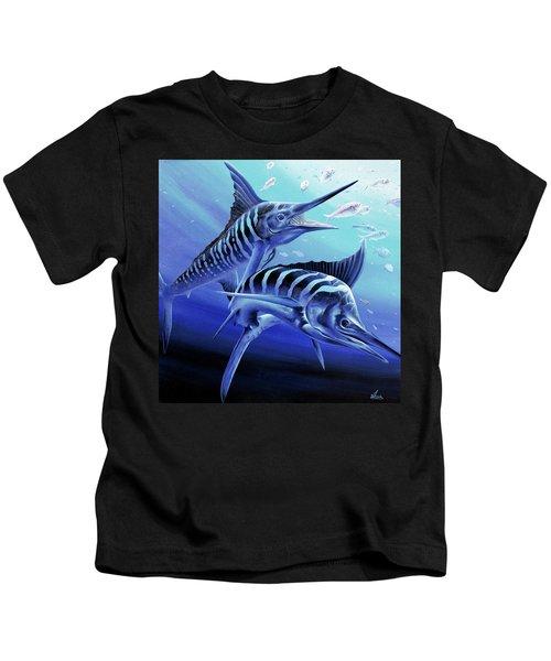 Blue Marlins Kids T-Shirt
