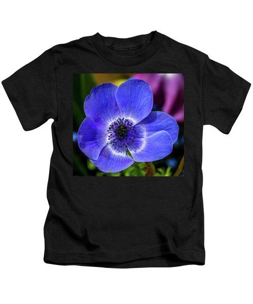 Blue Poppy Kids T-Shirt
