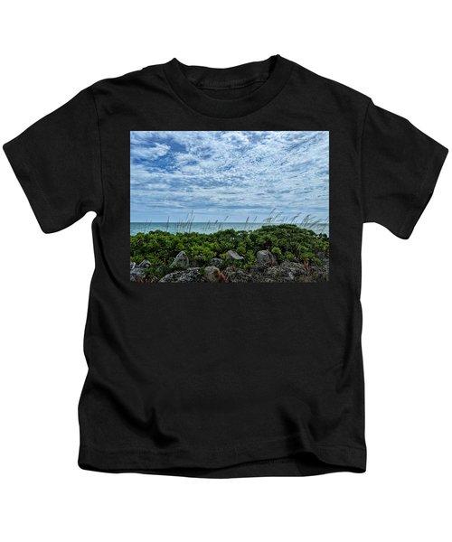 Blue Sky Lullaby Kids T-Shirt