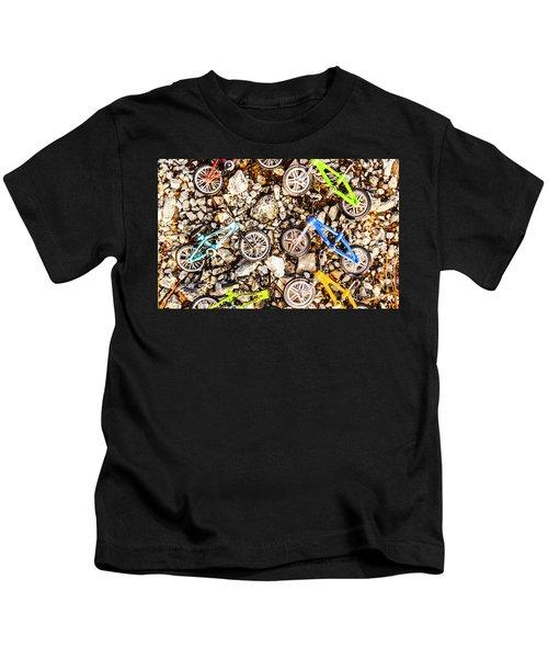 Bmx Pebble Race Kids T-Shirt