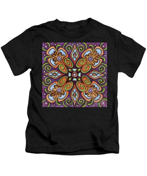 Botanical Mandala 11 Kids T-Shirt