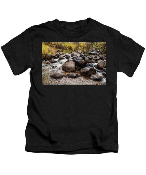 Boulders In Creek Kids T-Shirt
