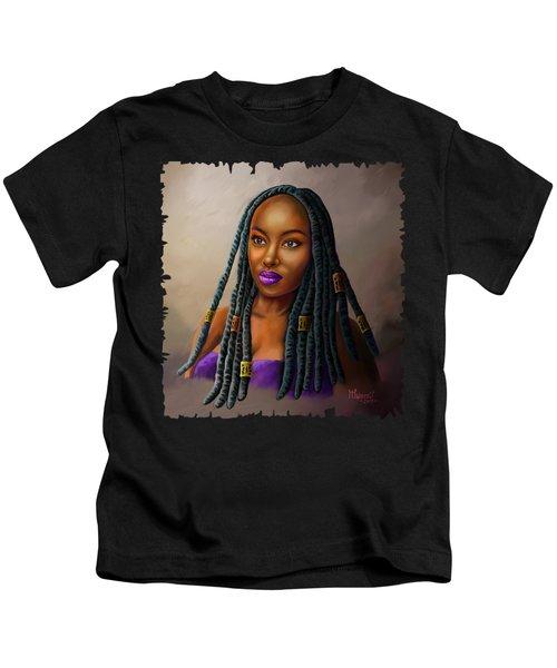 Braid Queen Kids T-Shirt