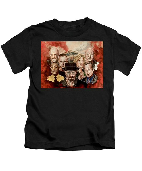 Breaking Bad Family Portrait Kids T-Shirt