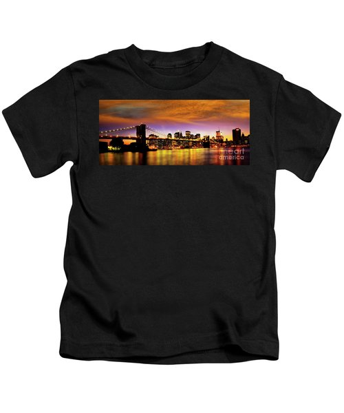 Bridging The East River Kids T-Shirt