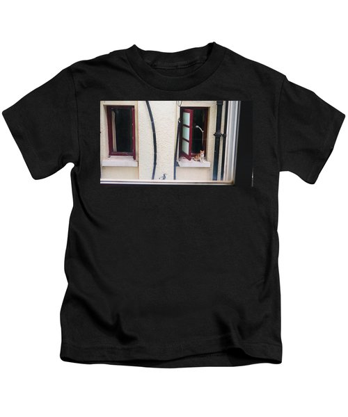 Brown Kids T-Shirt