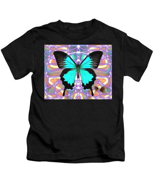 Butterfly Patterns 20 Kids T-Shirt