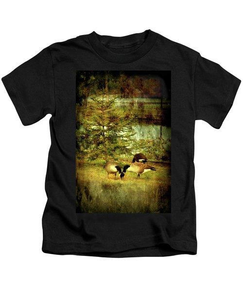 By The Little Tree - Lake Carasaljo Kids T-Shirt