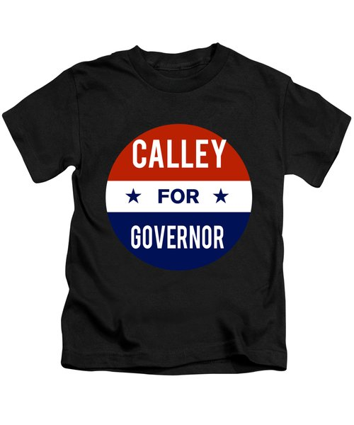 Calley For Governor 2018 Kids T-Shirt