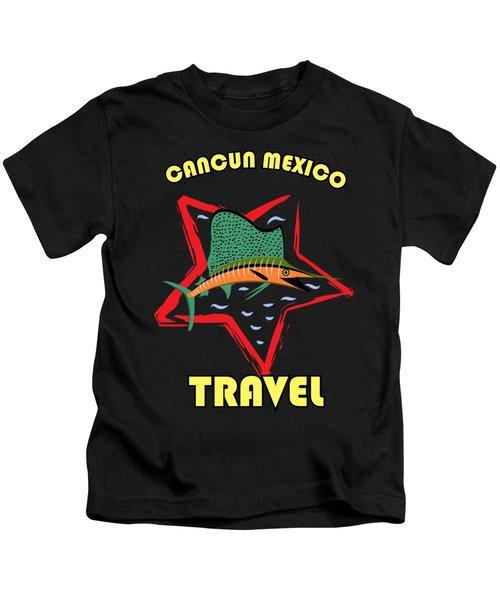 Cancun, Mexico Kids T-Shirt