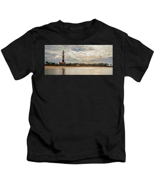Cape Lookout Lighthouse No. 3 Kids T-Shirt