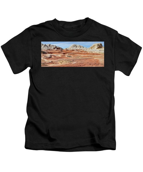 Carved In Stone Pano 2 Kids T-Shirt