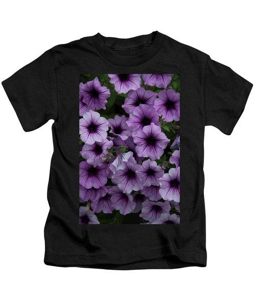 Cascade In Violet Kids T-Shirt