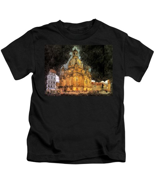 Cathedral, Dresden Kids T-Shirt