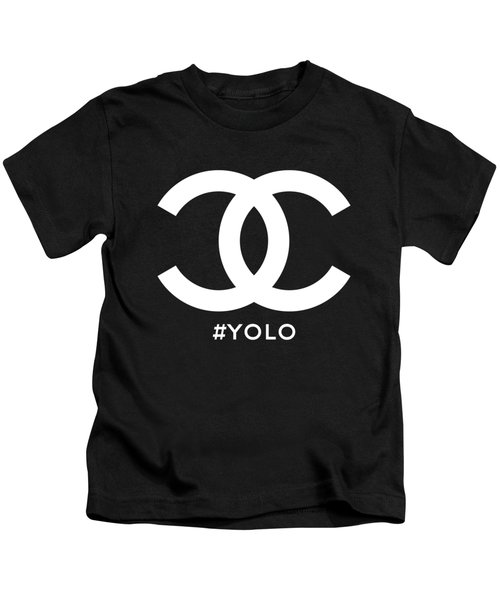 Chanel You Only Live Once Kids T-Shirt