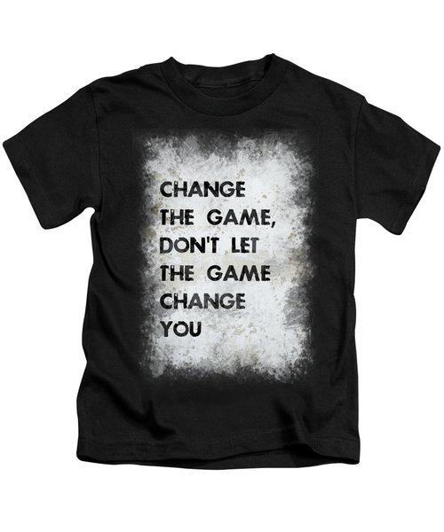 Change The Game Kids T-Shirt