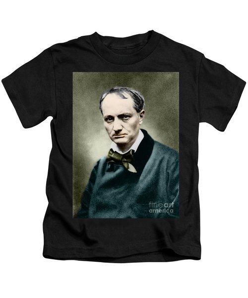 Charles Baudelaire, French Writer, Photo Kids T-Shirt