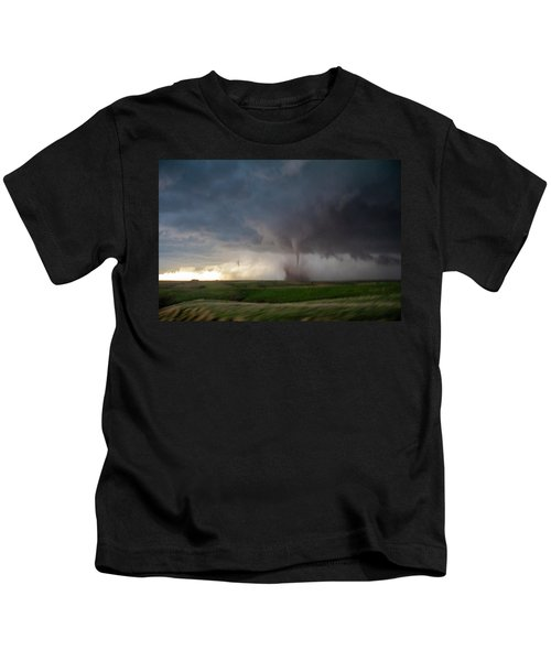 Chasing Naders In Nebraska 026 Kids T-Shirt