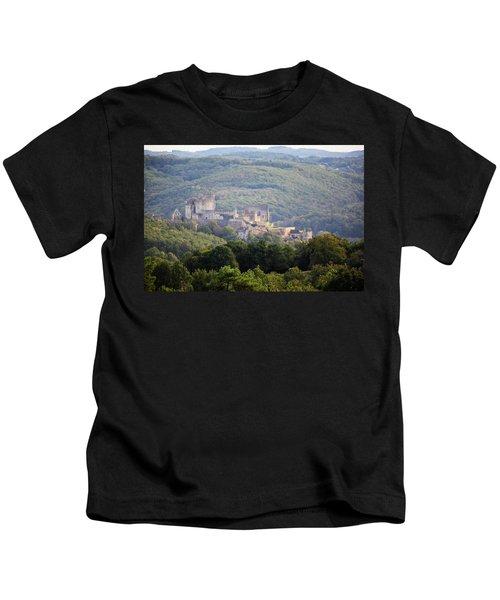 Chateau Beynac, France Kids T-Shirt