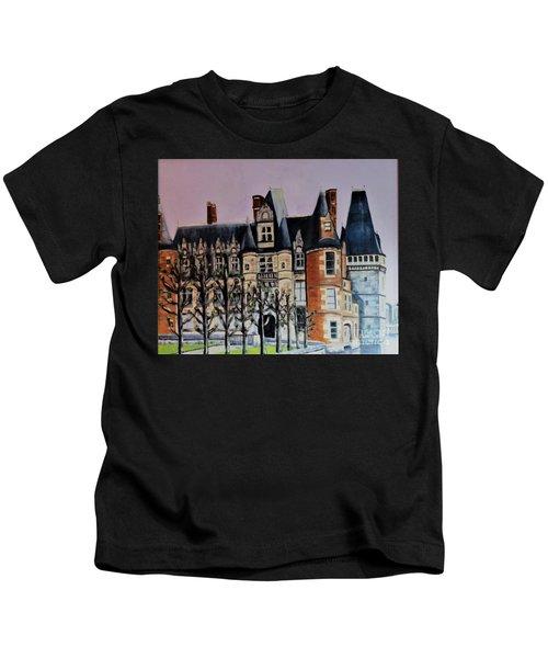 Chateau De Maintenon Kids T-Shirt
