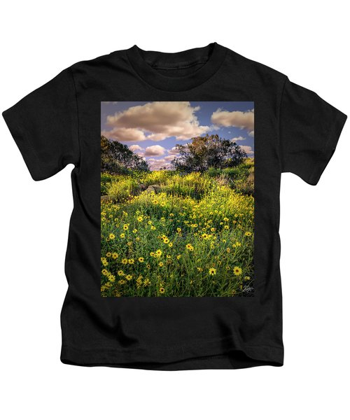 Chatsworth Wildflower Bloom Kids T-Shirt