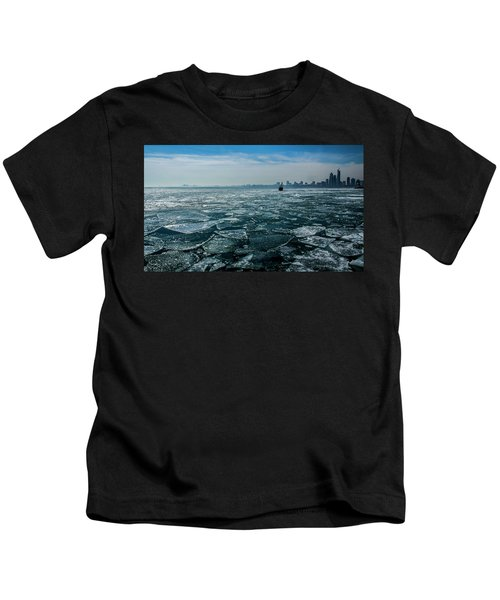 Chicago From Navy Pier 2 Kids T-Shirt