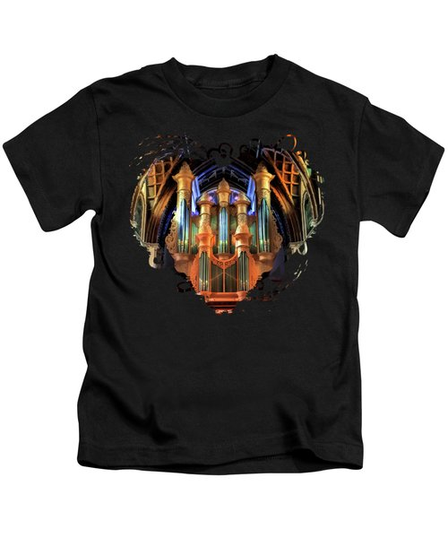 Chicago Holy Name Cathedral Organ Kids T-Shirt