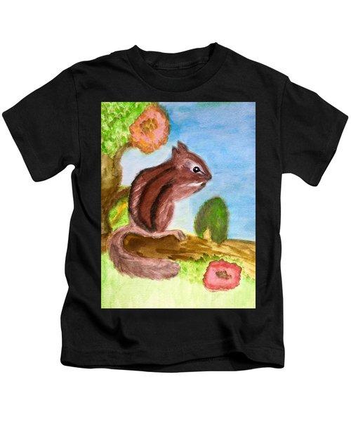 Chipmunk By Dee Kids T-Shirt