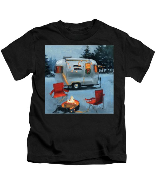 Christmas In The Snow Kids T-Shirt