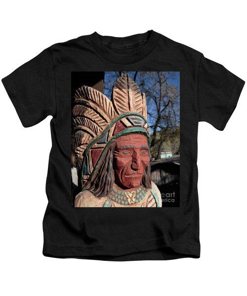 Cigar Store Indian  Kids T-Shirt
